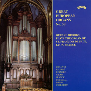 Great European Organs No. 58
