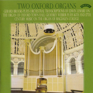Two Oxford Organs